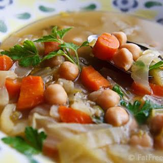 """Cabbage """"Noodle"""" Soup"""