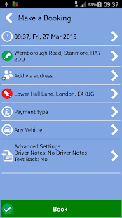 FLEET CARS MINICABS- screenshot thumbnail