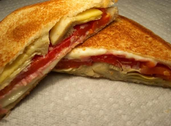 Antipasto Grilled Sandwich Recipe