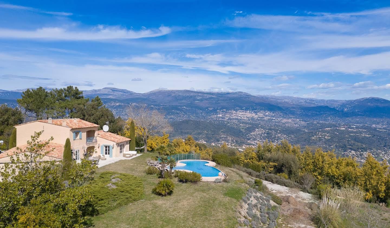 Villa avec piscine et jardin Tanneron