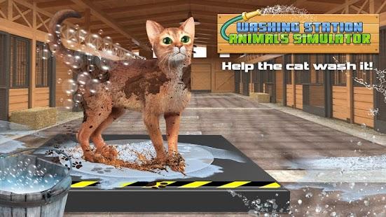 Washing Station Animals Simulator - náhled