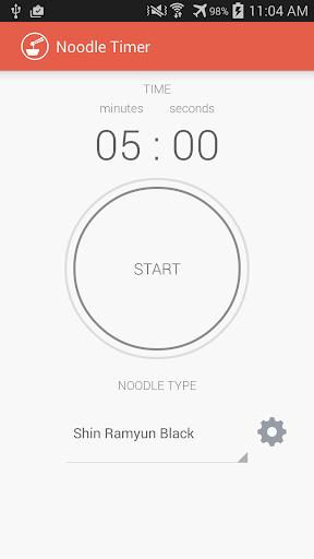 Instant Noodle Timer