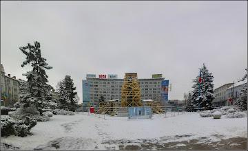 Photo: Cluj-Napoca, Piata Mihai Viteazul - Statuia lui Mihai Viteazul,  in renovare - 2018.01.22