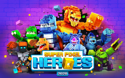 Super Pixel Heroes 2020 screenshots 8