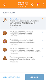 Mundo Senai Docente Mobile- screenshot thumbnail