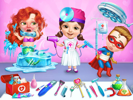 Superhero Hospital Doctor - Crazy Kids Care Clinic 3.0.4 screenshots 11