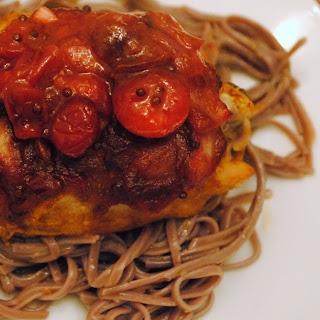 Cranberry Chicken Thokku #CranberryWeek