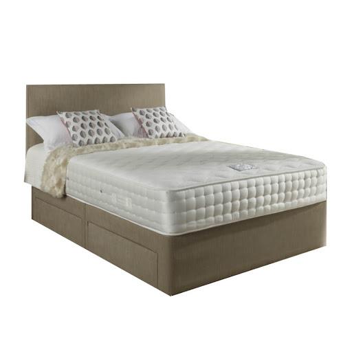Relyon Aurora Memory Deluxe Divan Bed
