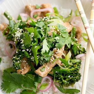 Pork and Broccoli Rice Bowls