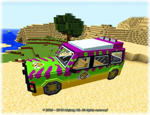 Cars for Minecraft PE Mod v2.8.88 screenshots 1