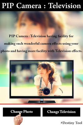 PIP Camera Television Effect - screenshot