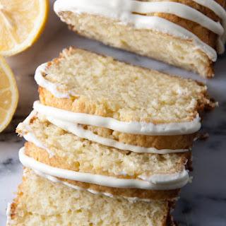 Lemon Pound Cake with Lemon Cream Cheese Glaze