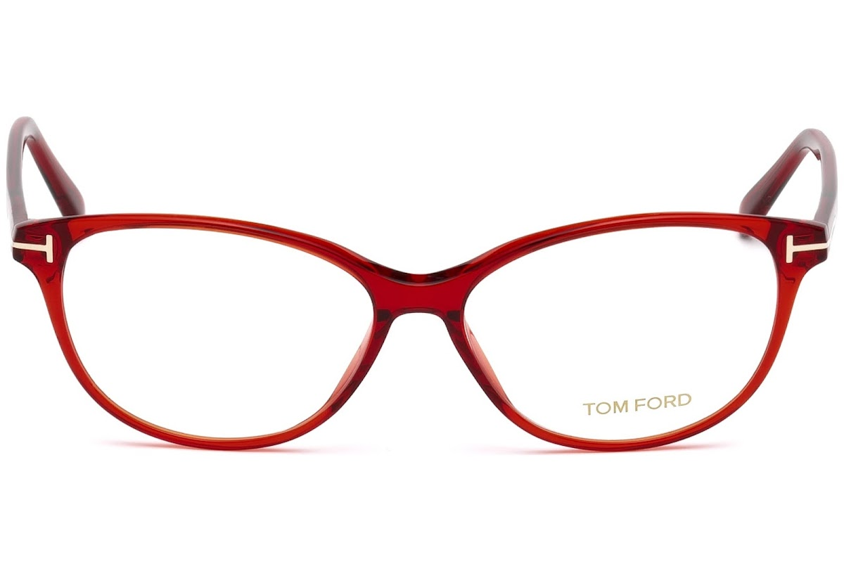 Acheter Montures Optiques Tom Ford FT5421 C55 066 (shiny red ... f41a669cf334