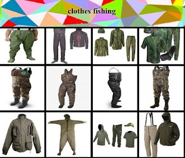 clothes fishing ideas - náhled