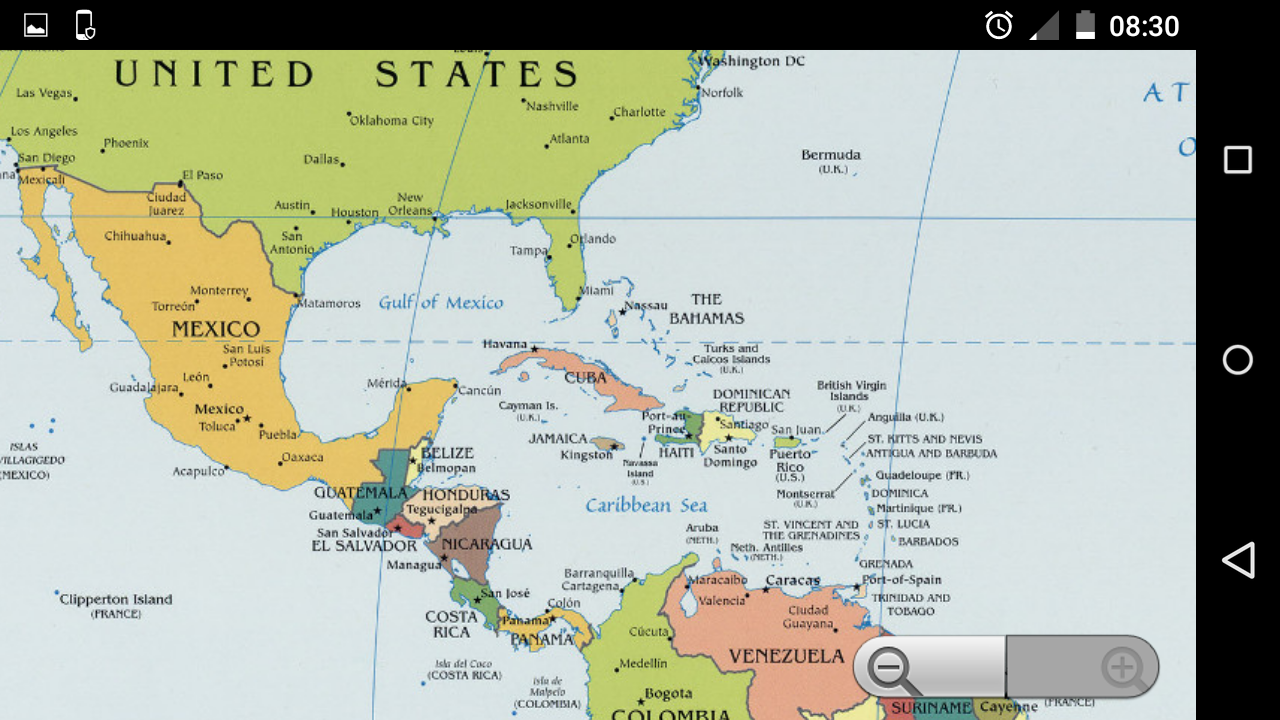 World map offline android apps on google play world map offline screenshot gumiabroncs Image collections