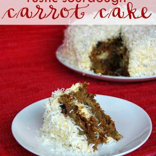 Rustic Sourdough Carrot Cake