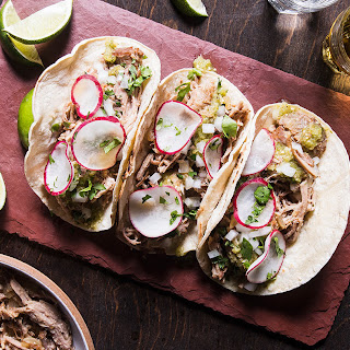 Carnitas Tacos with Tomatillo Salsa