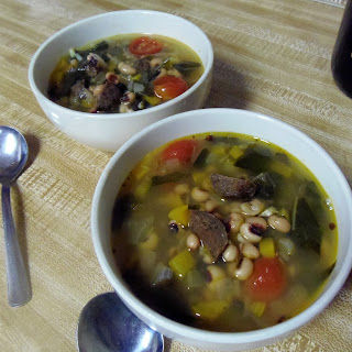 Black-Eyed Peas & Collard Stew