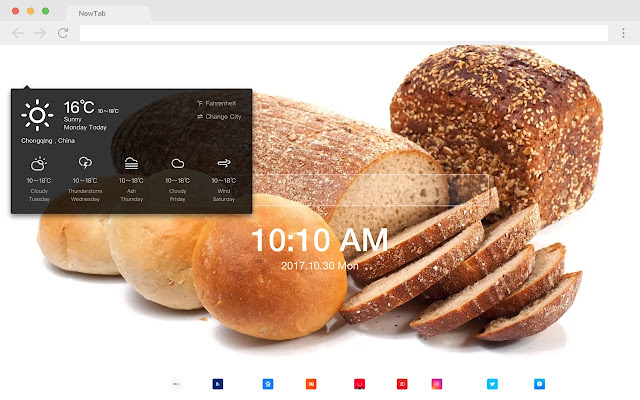 Bread New Tabs HD Wallpapers Foods Themes