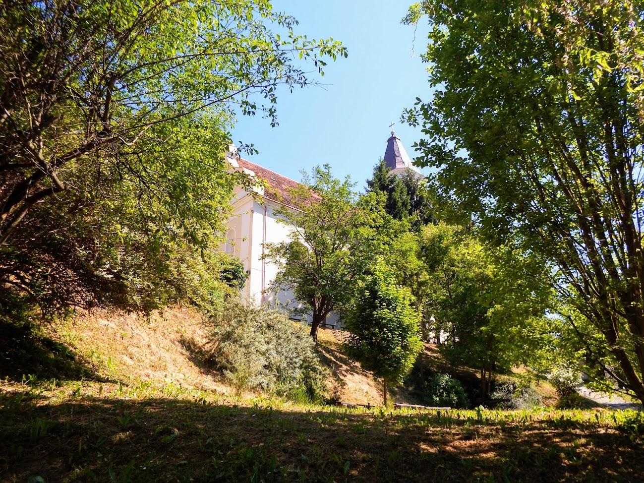 Homokkomárom - Kisboldogasszony rk. templom