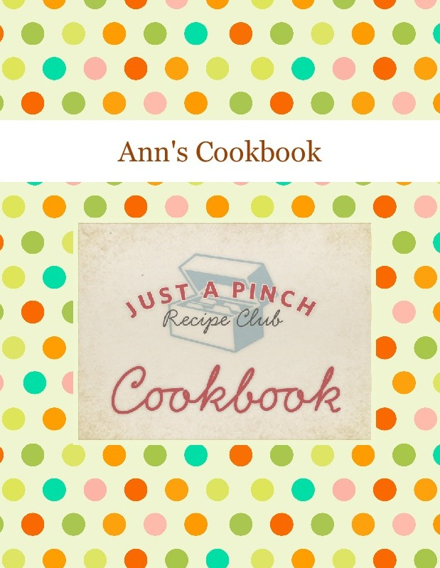 Ann's Cookbook