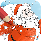 Coloring Game For Christmas icon
