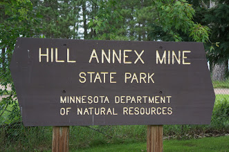 Photo: On Saturday July 23, we hunted fossils and toured the historic open pit mine in this park.