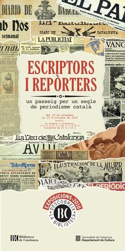 Escriptors i reporters