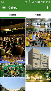 FEU Cultural App- screenshot thumbnail