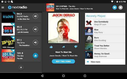 NextRadio Free Live FM Radio Screenshot 11