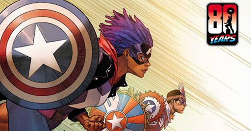 Marvel Unites Five Different Captain Americas for First Time