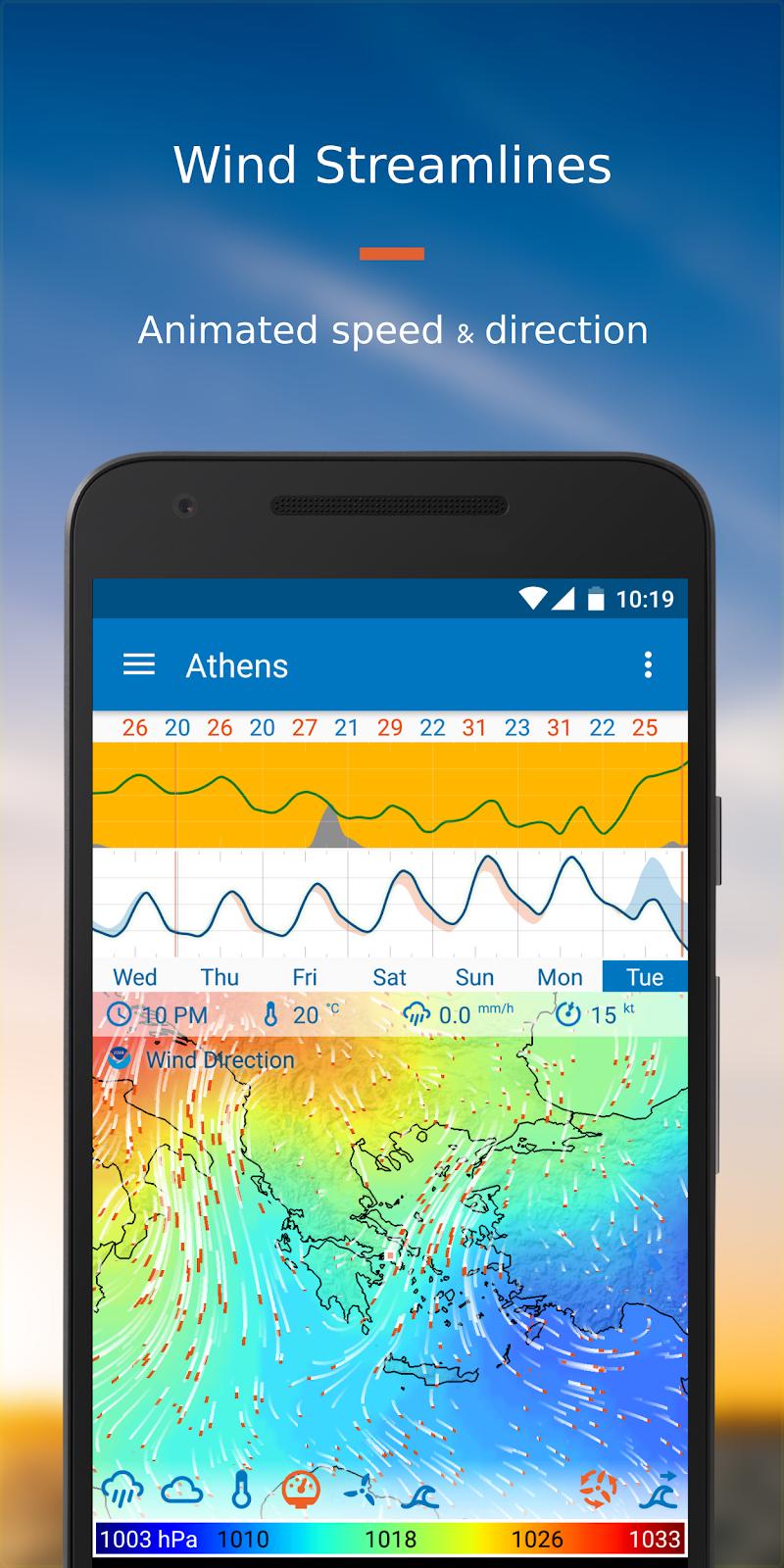 Flowx: Weather Map Forecast Screenshot 4
