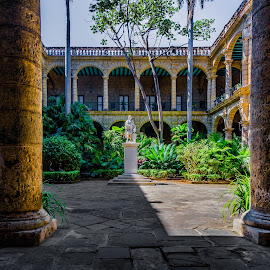Courtyard For Royalty by Garry Dosa - Buildings & Architecture Public & Historical ( grandiose, old, building, architecture )
