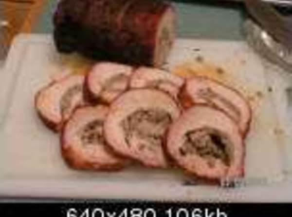 Sausage Stuffed Pork