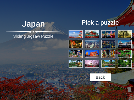 Japan Sliding Jigsaw 1.1.0 screenshots 1