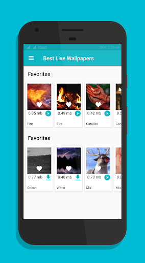 Gif Live Wallpapers : Animated Live Wallpapers app for Android screenshot