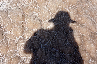 Photo: self portrait in salt