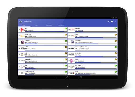Tv Mu0171sor 4.6 screenshots 7