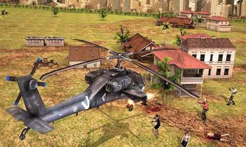 Zombie Reaper Gunship v1.0 (Mod Money)