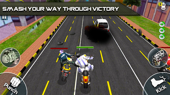 Bike Attack Race 2 - Shooting apk screenshot 2