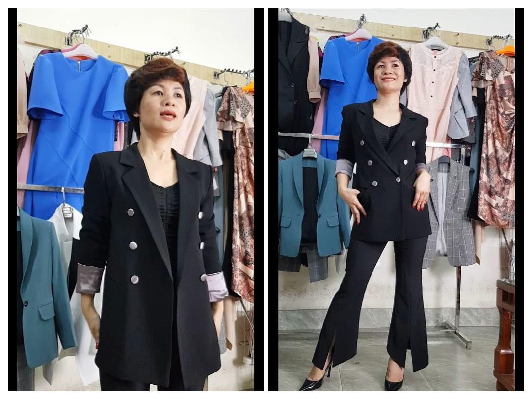 3 cách mix đồ Áo Vest Nữ với quần Ống Loe Phần 1 thời trang thuỷ sài gòn