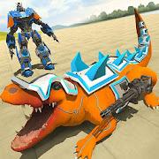 Robot Crocodile City Attack