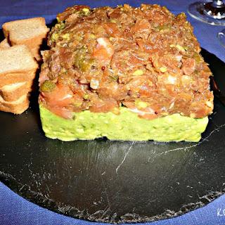 Salmon Tartar with Avocado Recipe