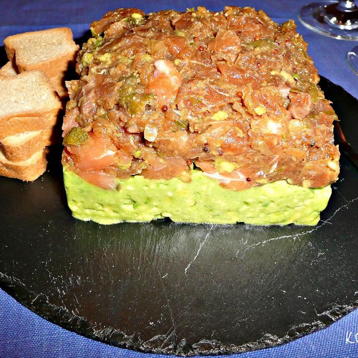 Salmon Tartar with Avocado