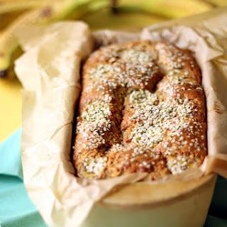 One Bowl Hemp Banana Bread Recipe