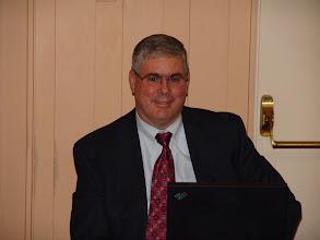 Photo: Treasurer Donald Weekes
