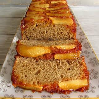 Cinnamon Cake With Caramelized Apple.
