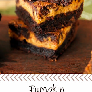 Pumpkin Cream Cheese Brownies