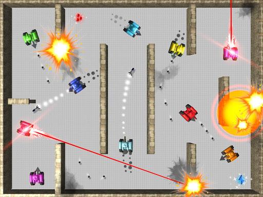TankHit - 2 Player Tank Wars screenshots 1