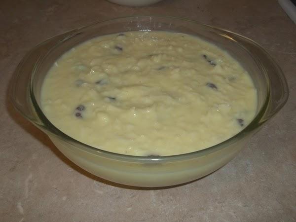 Rice Coconut Raisin Pudding Recipe